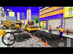 Heavy Construction Mega Road Builder - City Mega Road Construction - Android Gameplay - YouTube