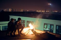 THE ROOF IS ON FIRE by Theo Gosselin, via Flickr