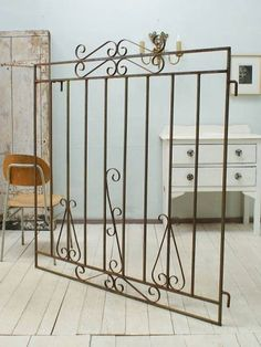 Iron Gate イギリスアンティークアイアンフェンスゲート柵1523 インテリア 雑貨 家具 Antique ¥21500yen 〆06月21日