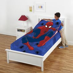 Marvel Spiderman Zippy Sack BedMarvelBathMomShipsSuperhero RoomHouseChildren
