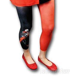 Love these Harley footless tights!