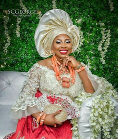 Hello Gorgeous, We are a sucker when it comes to fashion, and we do not shy away from beautiful Aso Ebi outfits. The revamped Aso Ebi outfits have come to give us a run for our money and we are no… African Bridal Dress, African Wedding Attire, African Lace Dresses, Latest African Fashion Dresses, African Attire, Bridal Dresses, Nigerian Wedding Dresses Traditional, Traditional Wedding Attire, Lace Blouse Styles
