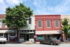 Greensboro, GA is known for its antiques shops and world-famous buttermilk pie.