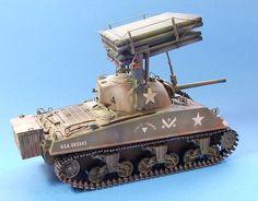 M4A3 Sherman Calliope Rear/Right