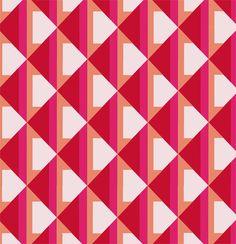 Geometric print designs on Behance
