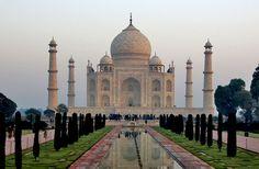 Os lugares mais lindos do mundo para conhecer - Ásia (parte 2) - Taj Mahal - Índia