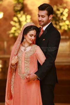 Pakistani Wedding Dresses, Pakistani Bridal, Beautiful Bridal Makeup, Wedding Sutra, Stylish Dresses, Celebrity Weddings, Bridal Style, Bride Groom, Party Wear