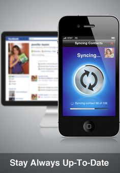 SmartSync syncs your iPhone contacts with Facebook, keeping pictures current, etc.  Pretty nifty, and free.