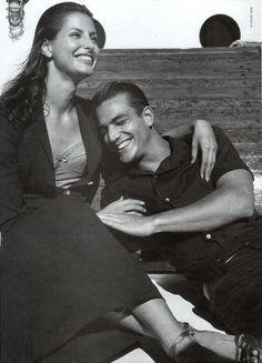 Dolce & Gabbana Spring/Summer 1997 Photo Steven Meisel  Models Elsa Benitez & Enrique Palacios