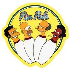 Old Glory Simpsons - Pinpals Decal Lego Simpsons, Simpsons Tattoo, Digital Foto, Big Shot, Tumblr Stickers, Old Glory, Futurama, Cultura Pop, Cartoon Characters