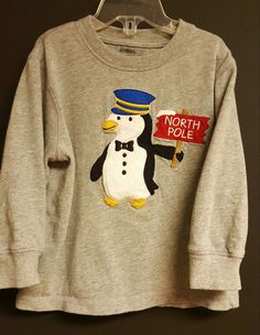 Gymboree Penguin Long Sleeve T shirt