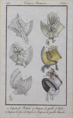 1816 bonnets