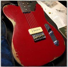 Fender Guitar T Shirt Fender Guitar Effects Pedal Fender Electric Guitar, Custom Electric Guitars, Custom Guitars, Guitar Pics, Music Guitar, Cool Guitar, Gibson Guitars, Fender Guitars, Fender Relic