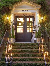 hgtv/ holiday house   ... holiday lighting. Bring holiday cheer to every room with a mobile tree