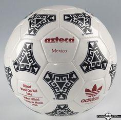 Adidas Azteca, balón de la Liga de 1986 a 88   Microbio Comunicación