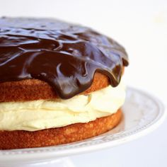 #prettyfoods boston cream pie!