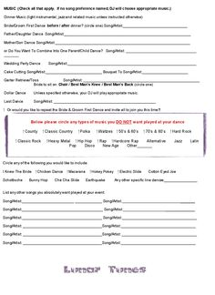 wedding dj contract templateregularmidwesterners | Resume and ...