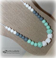 Nursing Teething Necklace Jewelry Chewelry by LittleLoStelle