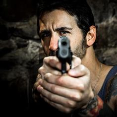sully erna! Love his eyes in this shot (pun intended)