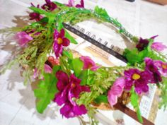 flower crown perfect for nature themed occasions :)