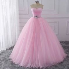 Cheap dresses for Buy Quality ball gowns quinceanera dresses directly from China sweet 16 dresses Suppliers: wuzhiyi Pink Ball Gown Quinceanera Dresses 2017 Beaded vestidos de 15 anos Sweet 16 Dresses Debutante Gowns Dress For 15 Years Dresses Elegant, Pretty Prom Dresses, Sweet 16 Dresses, Pink Prom Dresses, Pink Dress, The Dress, Beautiful Dresses, Formal Dresses, Formal Prom