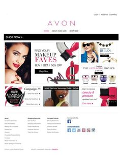 Visit and purchase Avon's great deals today on my estore www.youravon.com/jmcquiston