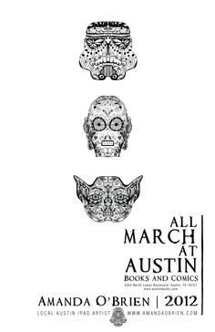 If you are coming out to SXSW you don't want to miss the party and art opening. Dates to be announced.