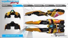 Wipeout HD Fury - Goteki45 Futuristic Cars, Futuristic Vehicles, Designers Republic, Hero Crafts, Expansion, Tuner Cars, Spacecraft, Concept Art, Transportation