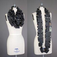 Склатчатый шарф