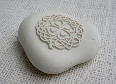 Celtic Art - engraved stone collection by sjEngraving. via Etsy.