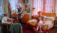 From Pretty in Pink- Imd Century furniture before it was cool to have it (again), colorful and fun.