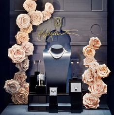 Brilliance is Full Bloom at the House of Harry Winston Window Display
