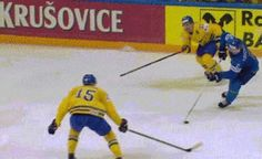 Like a boss (SWE v. KAZ, IIHF Worlds)