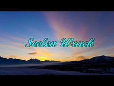 Seelen WrackEs gibt Tage..da weiß man weder ein noch aus❣Aber..es kommen wieder bessere Tage.. - YouTube