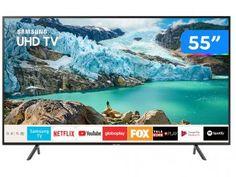 "Smart TV 4K LED 55"" Samsung UN55RU7100GXZD - Wi-Fi Bluetooth 3 HDMI 2 USB - Magazine Litoralbr #magazinelitoralbr #magazinevoce #magazineluiza  #ofertasdodia #ofertas #promocaodehoje #comprasonline #atendimentopersonalizado #comprasegura #liquidacao #promocoes #fretegratis #compradoresonline #tvsamsung #samsung Dolby Digital, Bluetooth, Wi Fi, Usb, Samsung Uhd Tv, Smart Tv 4k, Tv Led, N Netflix, Operating System"
