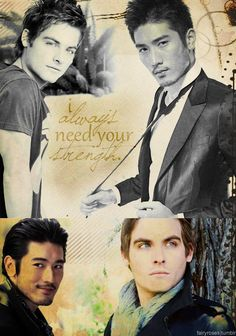 Malec - I always need your strength *SIGH*