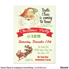 Find Retro Christmas invitations & announcements to mark the perfect party with Zazzle! Pick your favorite Retro Christmas invitations from our amazing selection. Retirement Party Invitations, Christmas Invitations, Christmas Party Invitations, Christmas Stationery, Invites, Retro Christmas, Christmas Holidays, Happy Holidays, Christmas Dinner Invitation