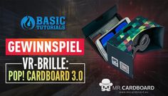 #Gewinnspiel: POP! Cardboard 3.0 (VR-Brille) von @MRCARDBOARD_EU