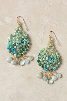 Ombre Swirl Earrings - Catherine Page