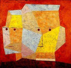 Paul Klee - Two heads  (1932)