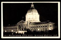 Postcard San Francisco Kalifornien, City Hall, Jubiläum 1925 | akpool.co.uk