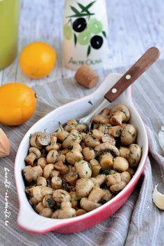 Garnitura de ciuperci cu mărar şi usturoi e o alternativă mai bună, mai gustoasă şi mai sănătoasă decât cartofii cu care ne însoţim de obicei fripturile.