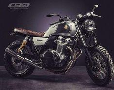 Honda CB1100 Scrambler Challenge Big One