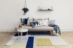 Ferm Living AW14 COLLLECTION on julkaistu ja sillähän on hienoja uusia mattoja ja tyynyjä.