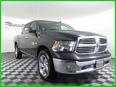 cool 2016 Ram 1500 Big Horn 4x4 V8 HEMI Crew cab Truck Tow package - For Sale