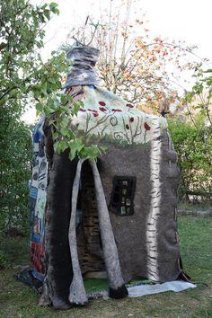 Ariane Mariane Sroka, Art textile