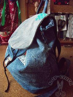 KOP_CIUCH | przerabianie ubrań, DIY i cała reszta czyli życie z pasją tworzenia :): Plecak