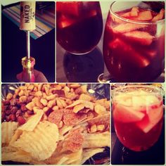 Sangria Night with the gfs!