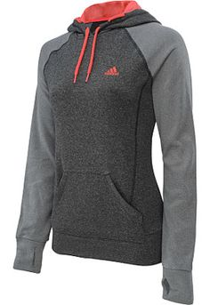 adidas Women's Ultimate Fleece Pullover Hoodie - SportsAuthority.com