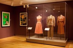 The exhibition features several iconic costumes Grace Kelly wore in Hollywood films such as To Catch a Thief, Mogambo, The Swan and High Society. image © Natalie Wi.